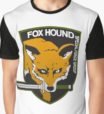 Fox Hound Special Force Group Graphic T-Shirt