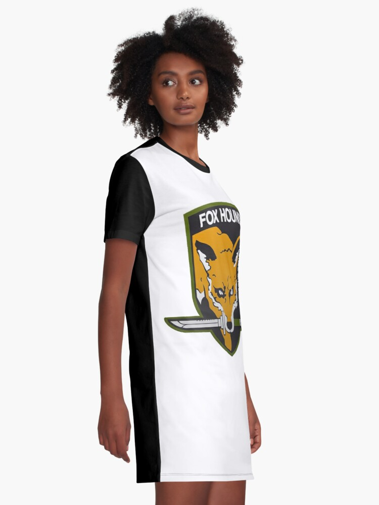 Alternate view of Fox Hound Special Force Group Graphic T-Shirt Dress