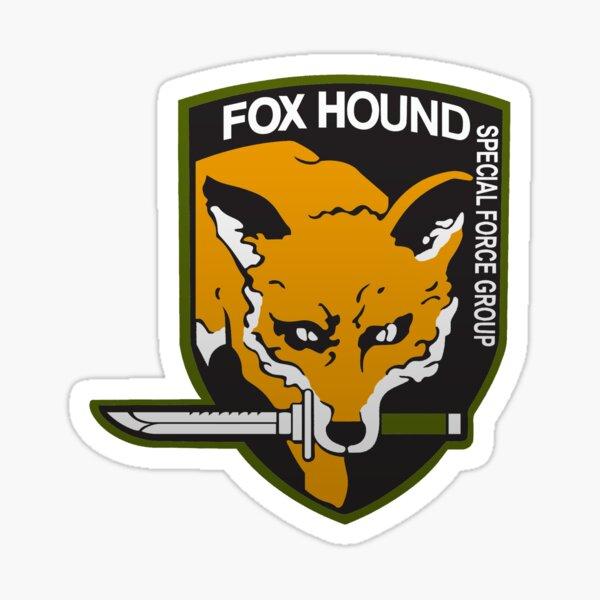 Groupe de forces spéciales Fox Hound Sticker