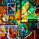 Abstract shapes and colours 2 by Extreme-Fantasy