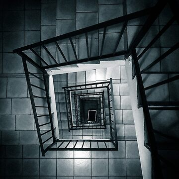 Down Stairs by infinitephotos