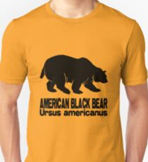 AMERICAN BLACK BEAR Unisex T-Shirt