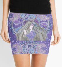 Celtic moon Goddess Mini Skirt