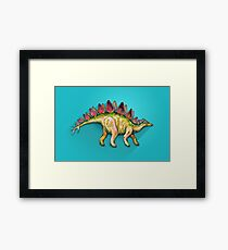 My friend Stegosaurus Framed Print