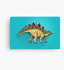 My friend Stegosaurus Canvas Print
