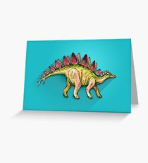 My friend Stegosaurus Greeting Card