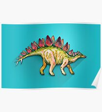 My friend Stegosaurus Poster