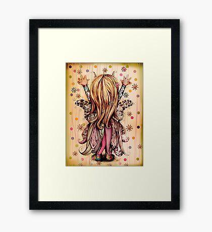 Bramble Rainbowtree Framed Print