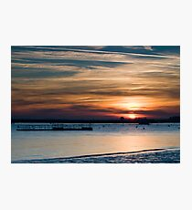 Burnham Sundown Photographic Print