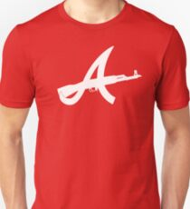 Atlanta AK 47 White T-Shirt