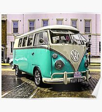 Split Screen VW Poster