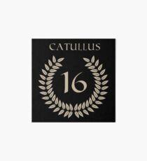 Catullus 16 Art Board