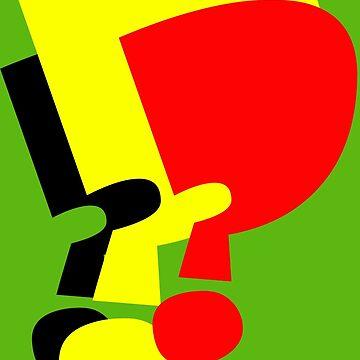 Three Question Marks Design by muz2142