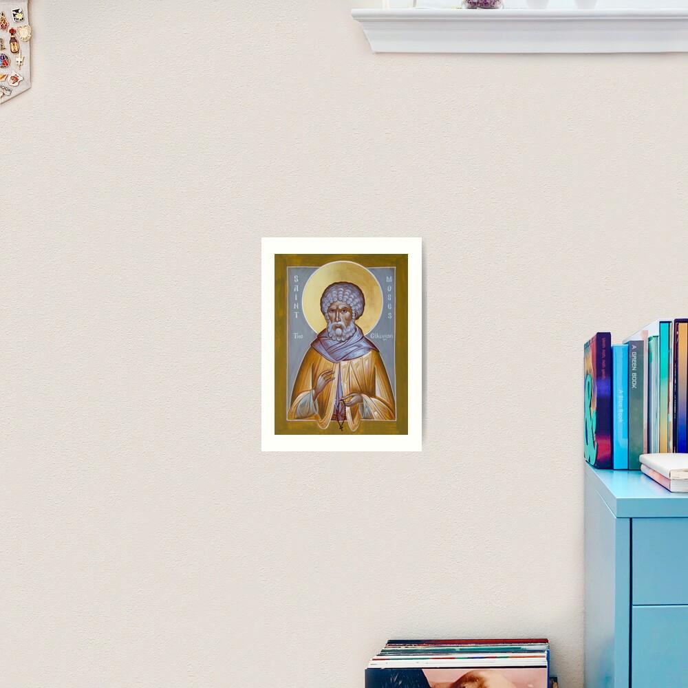 St Moses the Ethiopian Art Print