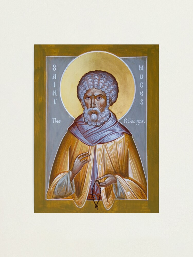 Alternate view of St Moses the Ethiopian Photographic Print