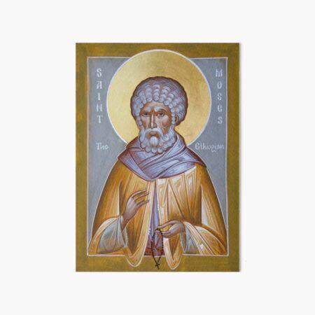 St Moses the Ethiopian Art Board Print
