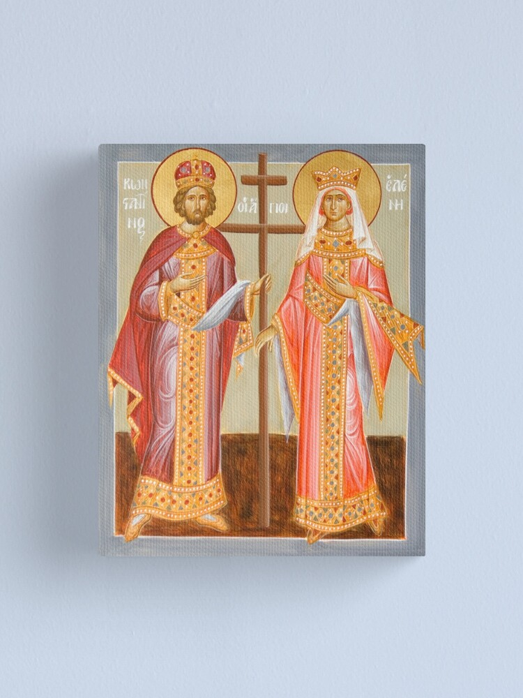 Alternate view of Sts Constantine and Helen Canvas Print