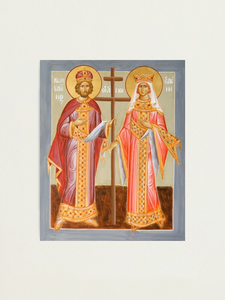 Alternate view of Sts Constantine and Helen Photographic Print