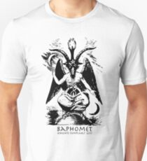 Baphomet - Knights Templar God T-Shirt