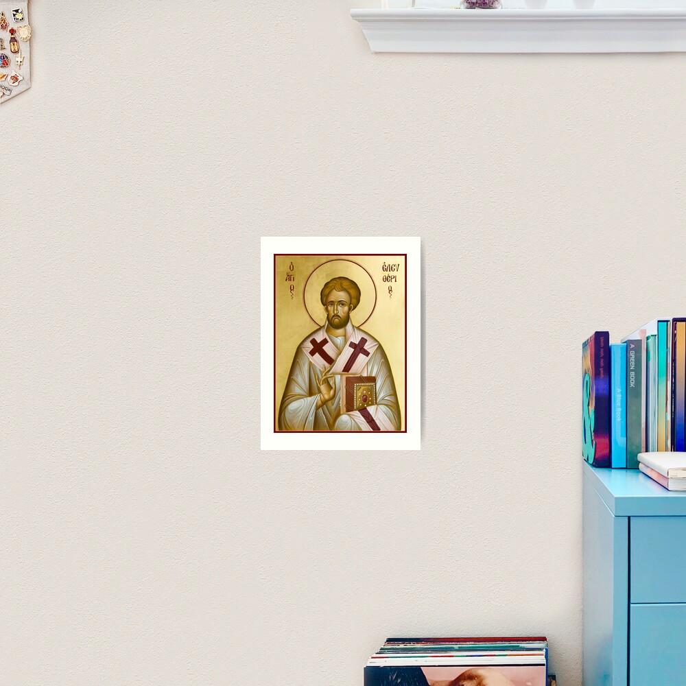 St Eleftherios Art Print