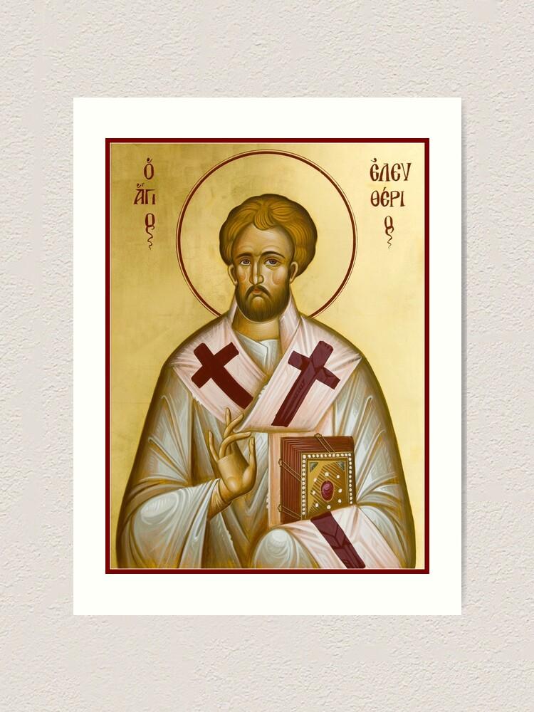 Alternate view of St Eleftherios Art Print