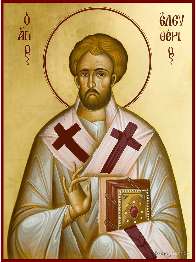 St Eleftherios by ikonographics