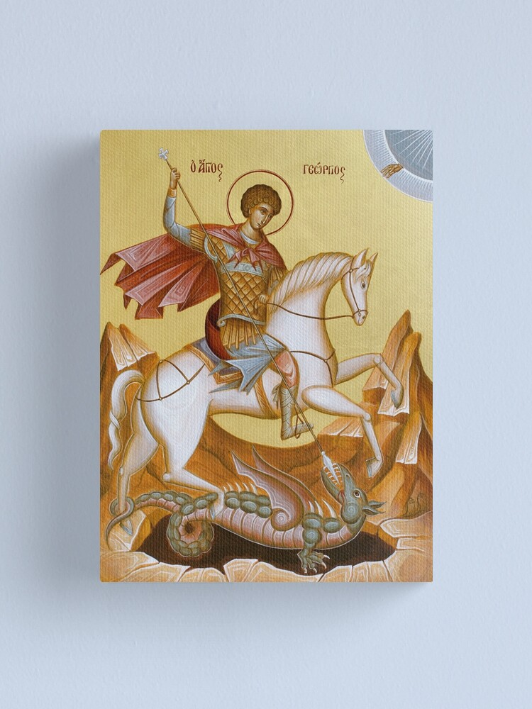 Alternate view of St George Canvas Print