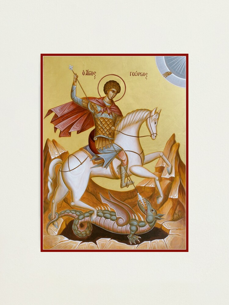 Alternate view of St George Photographic Print