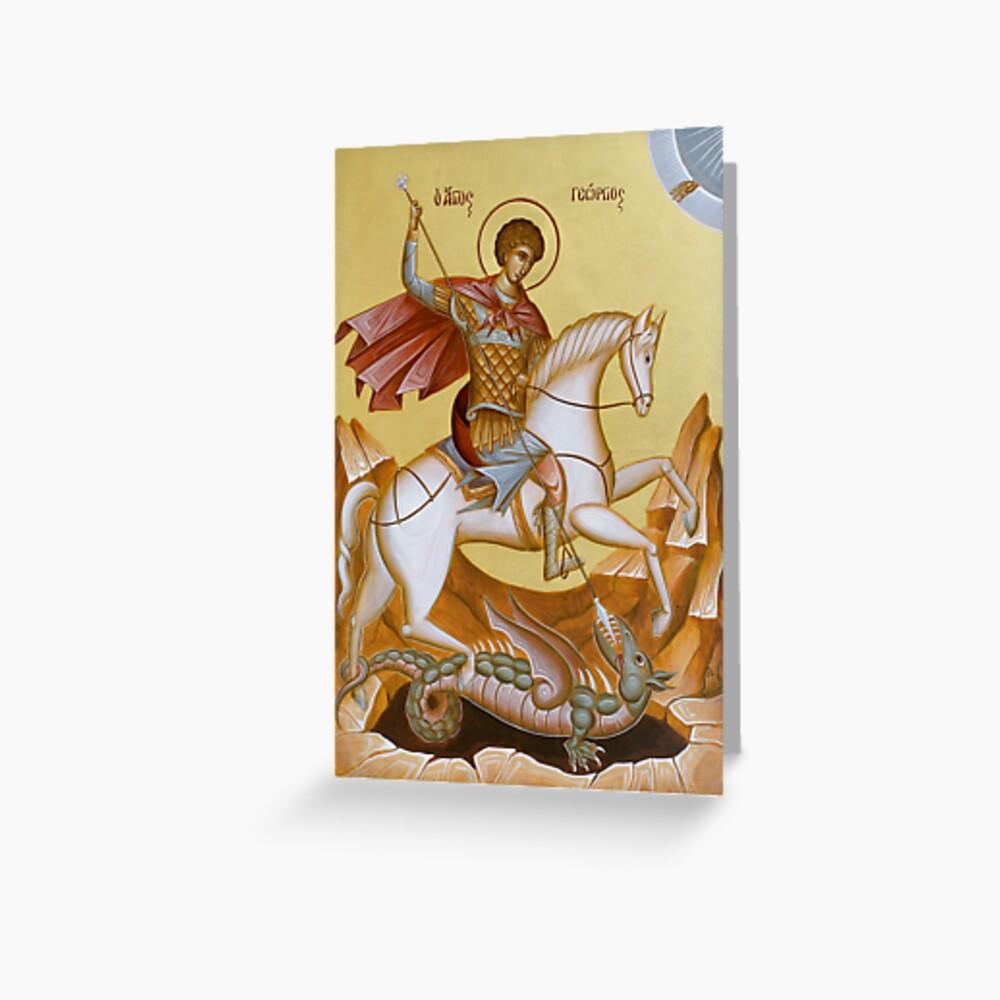 St George Greeting Card