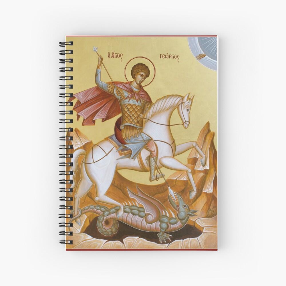 St George Spiral Notebook