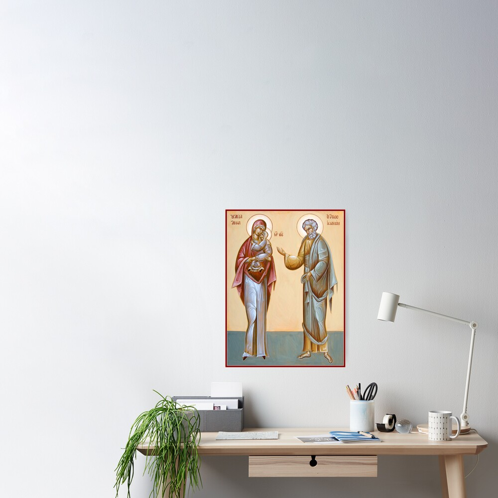 Sts Joachim and Anna Poster