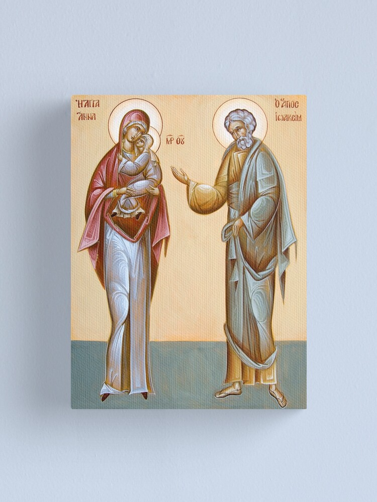 Alternate view of Sts Joachim and Anna Canvas Print