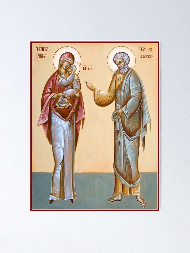 Alternate view of Sts Joachim and Anna Poster