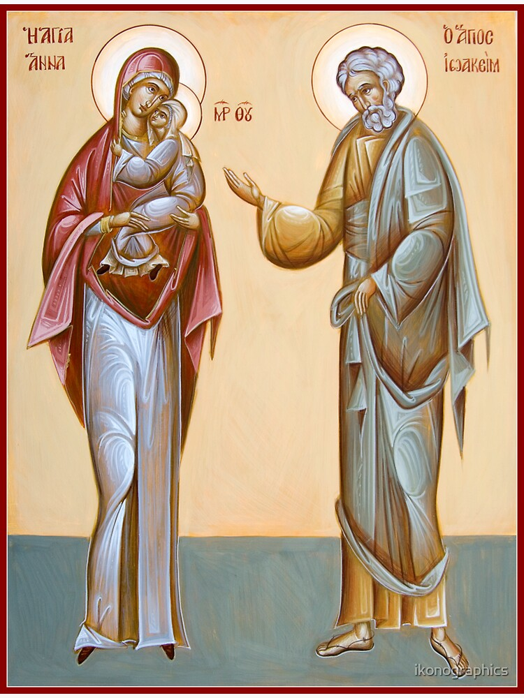 Sts Joachim and Anna by ikonographics