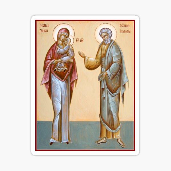 Sts Joachim and Anna Sticker