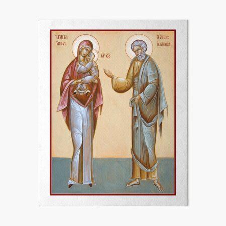 Sts Joachim and Anna Art Board Print