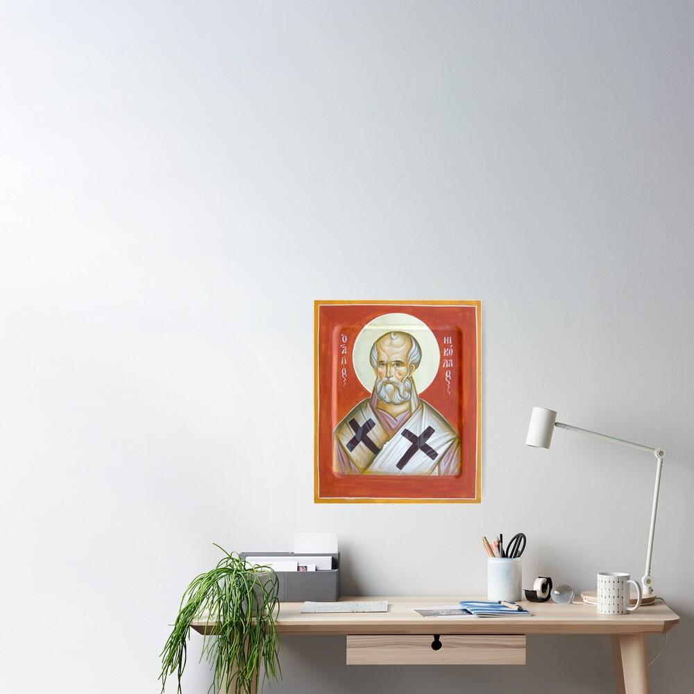 St Nicholas of Myra Poster