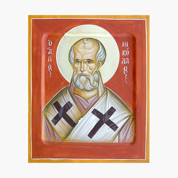 St Nicholas of Myra Photographic Print
