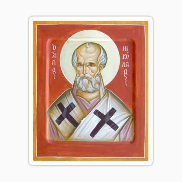 St Nicholas of Myra Sticker