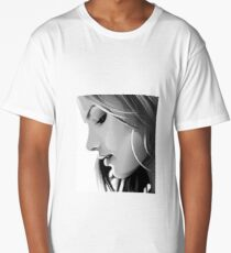 Black and white woman Long T-Shirt