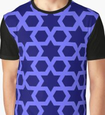 Arabic star pattern Graphic T-Shirt