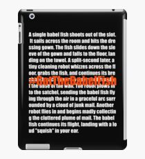Babel Fish (2) iPad Case/Skin
