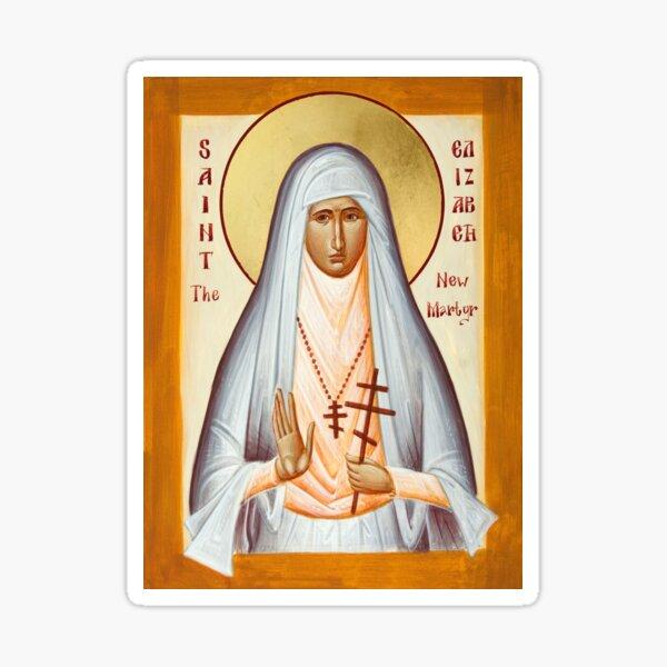 St Elizabeth the New Martyr Sticker