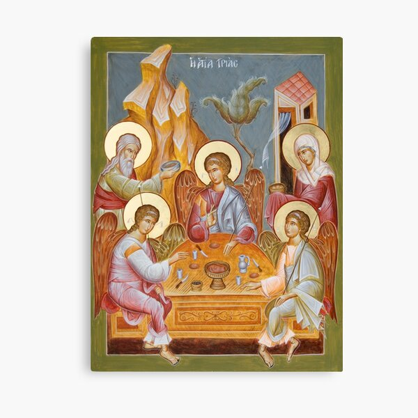 The Holy Trinity Canvas Print