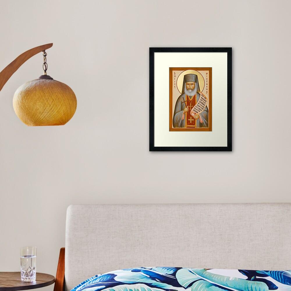 St Philoumenos of Jacob's Well Framed Art Print