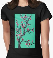 Arizona Blossom Womens Fitted T-Shirt