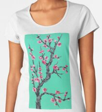 Vaporwave - Arizona Blossom Women's Premium T-Shirt