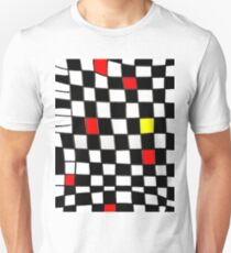 Funky Gingham black plus T-Shirt