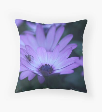 """something's itching my face"" Throw Pillow"