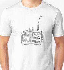 Funny Music Making Radio - Hand Drawn T-Shirt